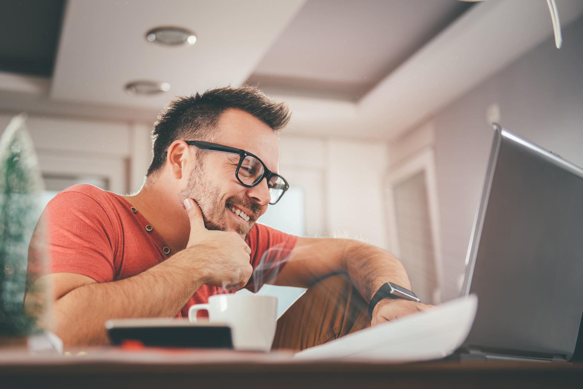 La comodidad de estudiar inglés online